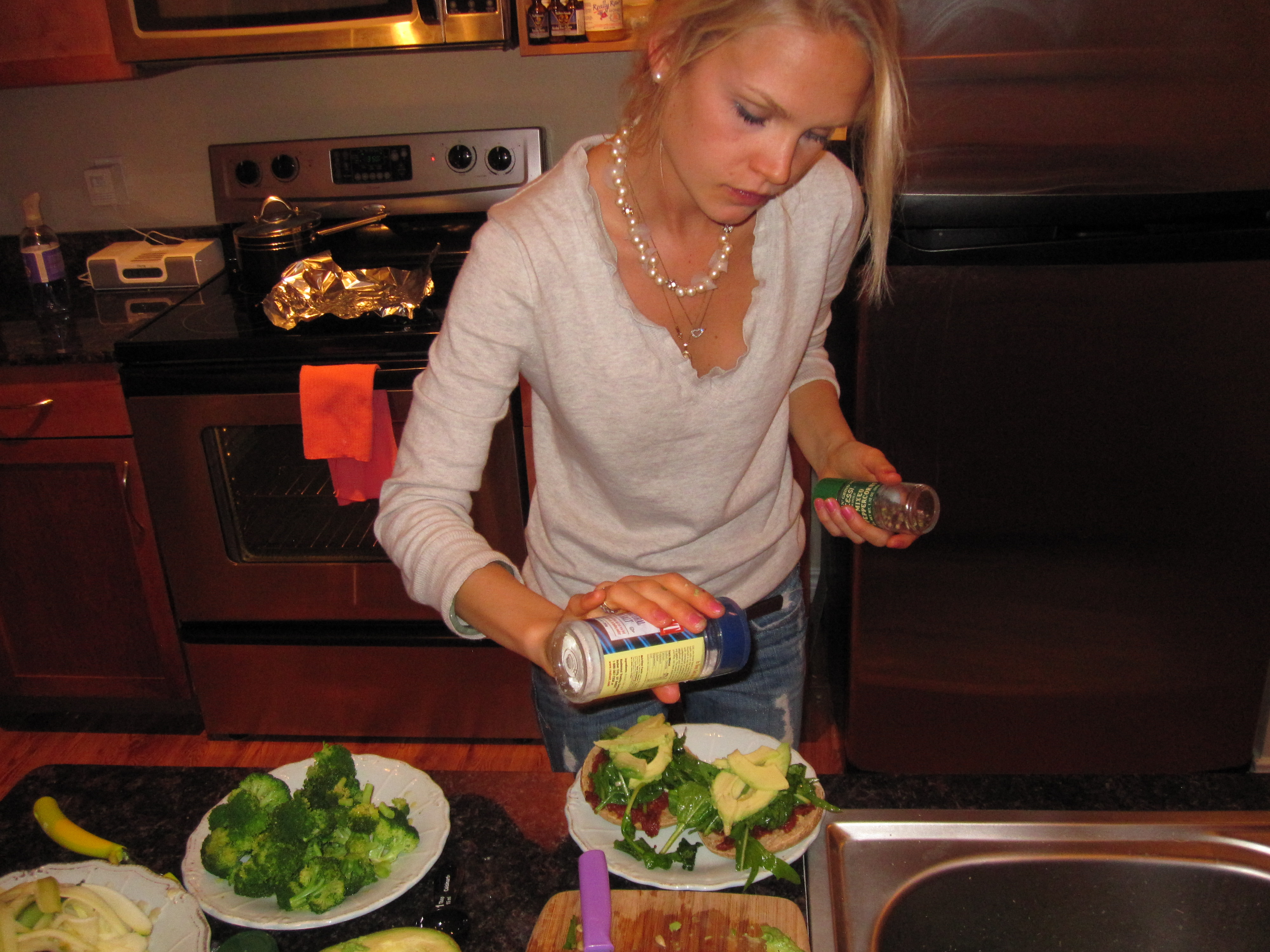 Book review raw food for everyone glow by lauren talbot recently however the boyfriend made his way over for a vegan dinner and because i had been inspired by cohens marinated greens recipe forumfinder Choice Image